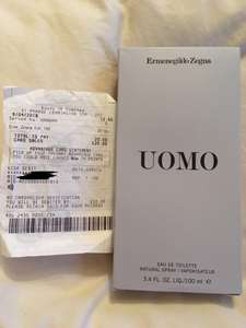 Ermenegildo Zegna Uomo Eau De Toilette 100ml - £20 in Boots Leamington Spa
