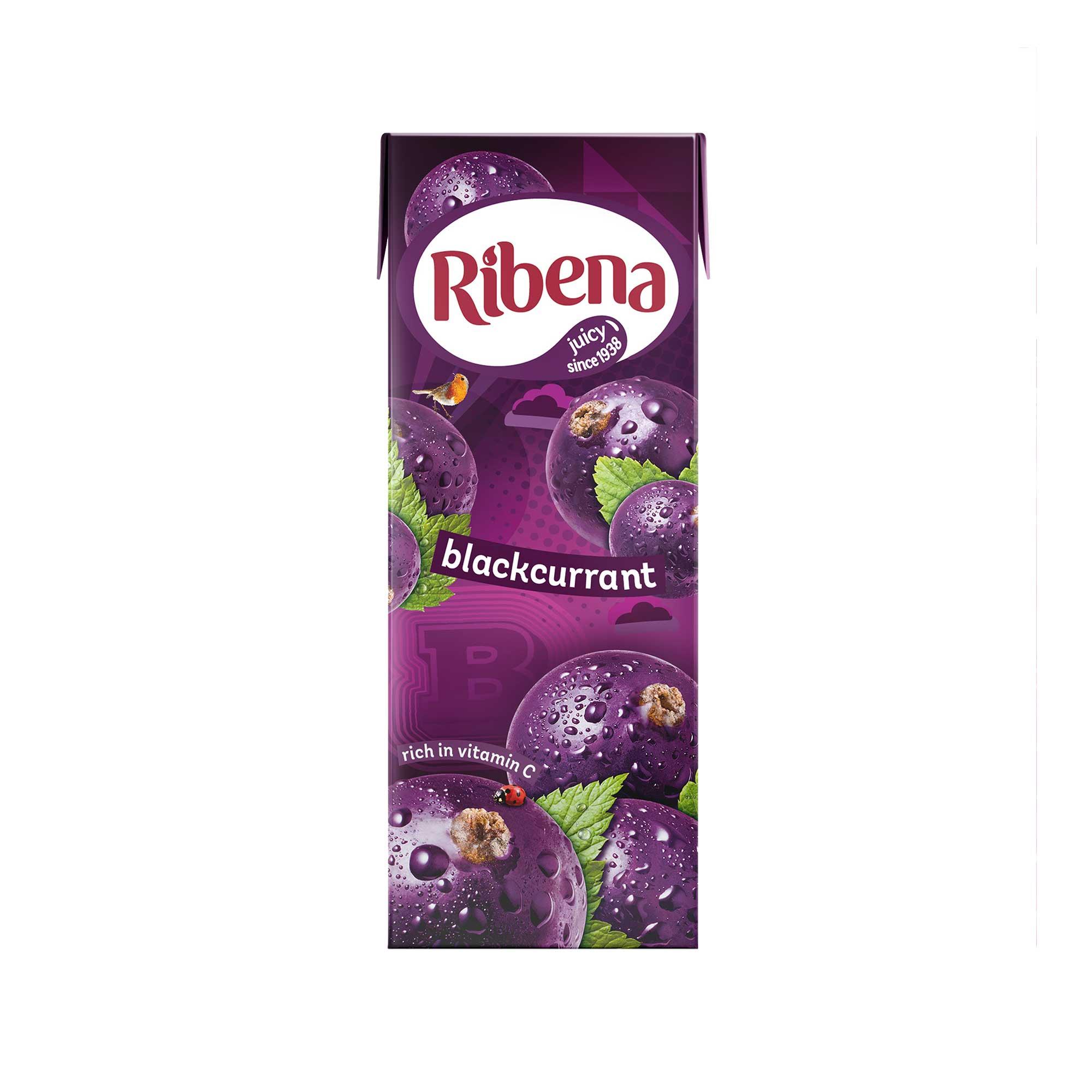 Ribena 250ml cartons - pack of six instore at Asda for £1.50