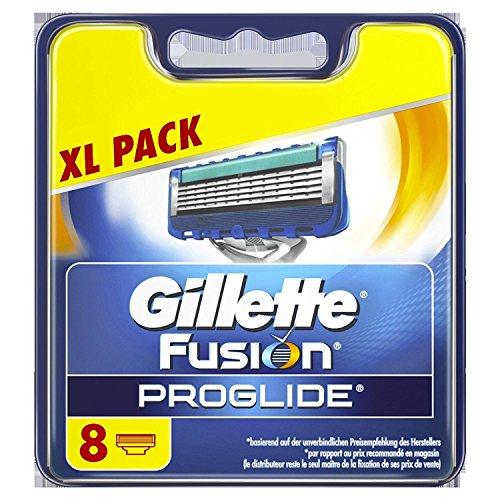 Gillette Fusion5 ProGlide Razor Blades, 8 Refills £16.76 Prime / £21.51 Non Prime @ Amazon