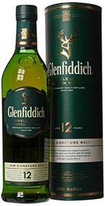 Glenfiddich 12 Year Old Whisky, 70 cl @ Amazon £25