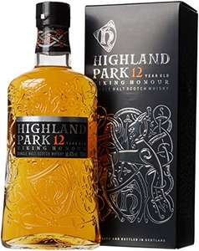 Highland Park 12 Year Old Orkney Malt Whisky Bottle, 70 cl £25 @ Amazon
