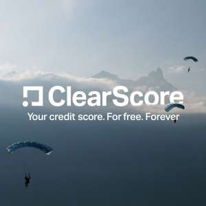 Credit score and report.  free - clearscore.com