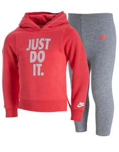 Nike Girls Infant Hoodie & Leggings set now £18 @ JD Free C&C
