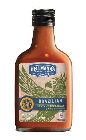 Hellmann's spicy churrasco sauce 39p at Fulton foods