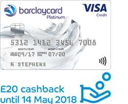 Barclays offering £20 cashback off its balance transfer credit cards. There is a 25 month card that charges no fee so you can get £20 off your debt by transferring.