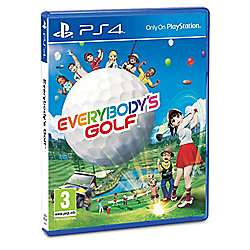 Everybody's Golf Sony PS4 £14 Click & Collect @ Tesco