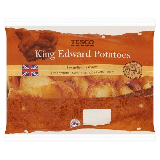 Tesco King Edward Potatoes 2.5Kg £1 (From 11th April) @ Tesco