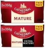 Cathedral City Cheese Twin Packs (2 x 350g) - Mature or Extra Mature and Mature (in the same pack) Reduced to £4 @ Morrisons
