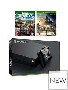 Xbox One X with Far Cry 5 & A.C. Origins £469.99 @ Very