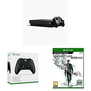 Xbox One X at Amazon with Quantum Break PLUS an extra controller PLUS a free download code of Sea of Thieves ! £459.99 at Amazon