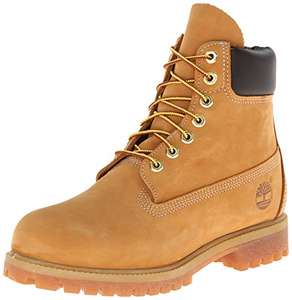 Timberland Mens Icon 6 Inch Premium Wheat Nubuck Leather Ankle Boots.  Size 12.5 only. £48.03 at Amazon