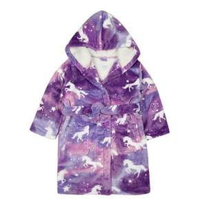 Blue Zoo unicorn girls dressing gown 12-18 months £7.50 was £25 @ Debenhams
