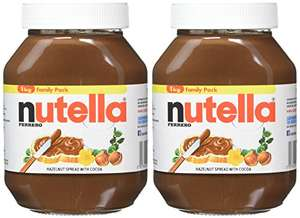 FERRERO Nutella Hazelnut Chocolate Spread, 1kg (Pack of 2) £8.48 Amazon - Prime Exclusive