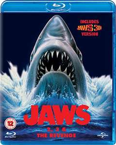 Jaws Box Set (Jaws 2, Jaws 3 & Jaws: The Revenge) [Blu-ray] [1978] Amazon (prime) £8 / non prime £9.99
