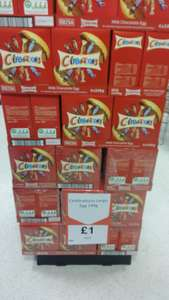 Celebrations large egg 248g for £1 at Heron