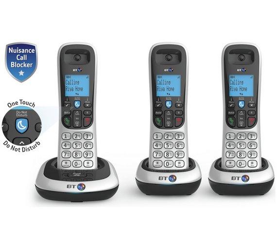 BT 2200 Cordless Telephone - Triple £39.99 @ Argos