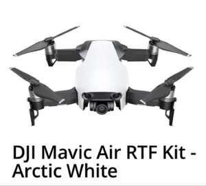 DJI Mavic Air RTF Kit - Arctic White £576.99 with coupon +2.1% TCB @ eglobalcentral