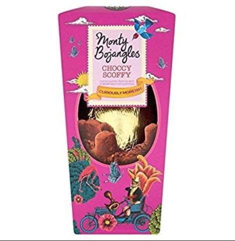 Monty Bojangles Easter egg 200g 60p @ Sainsbury's