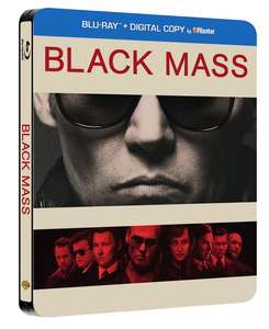 Black Mass - Steelbook (Blu-Ray) £5.99 @ coolshop
