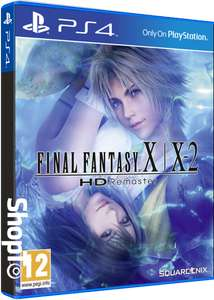 [PS4] Final Fantasy X/X 2 HD Remaster - £12.85 - Shopto