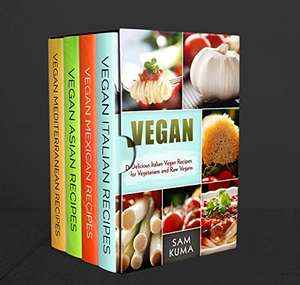 Ethnic Vegan Box Set 4 in 1: Dairy Free Vegan Italian, Vegan Mexican, Vegan Asian and Vegan Mediterranean Recipes  [Kindle Edition]  - Free Download @ Amazon