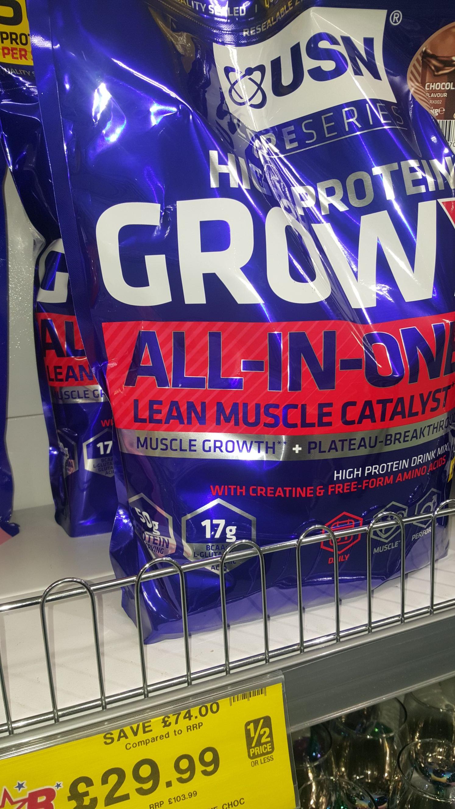 USN 4kg protein mix £29.99 @ Home bargains
