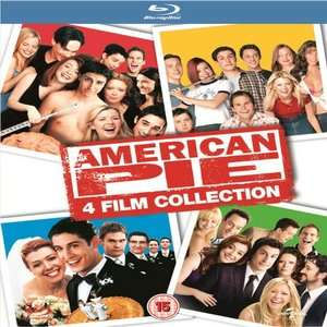 American Pie 4 Film Collection (Blu-Ray) £5.40 w/code @ Zoom