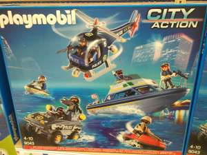 Playmobil 9043 Police Tactical Unit Set £34.99 @ Toys R Us Milton Keynes