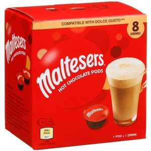 Maltese hot chocolate pods for Dolce Gusto £3 @ BM bargains