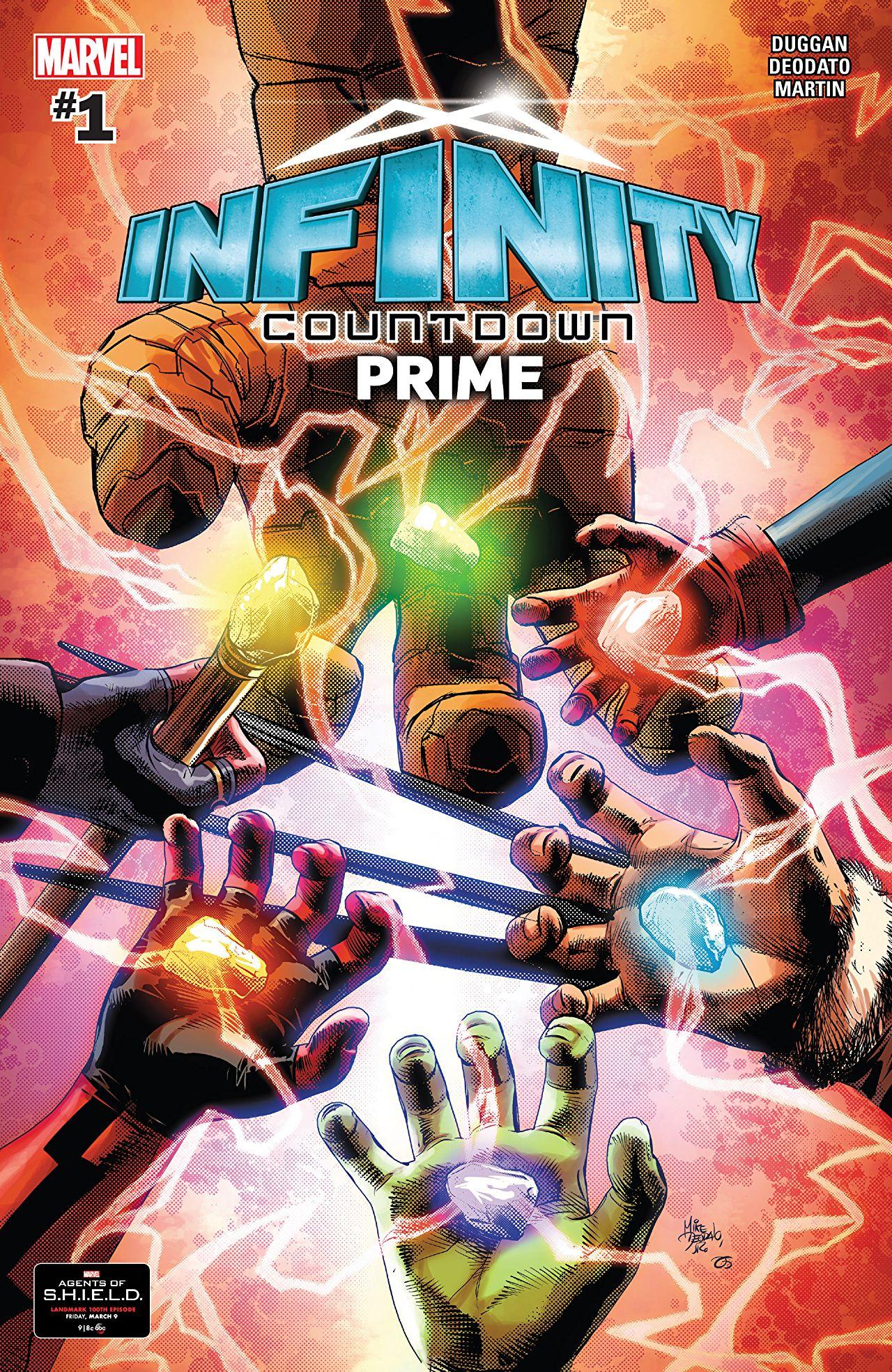 Infinity Countdown Prime (2018) #1 (Digital @ Comixology - please read description)