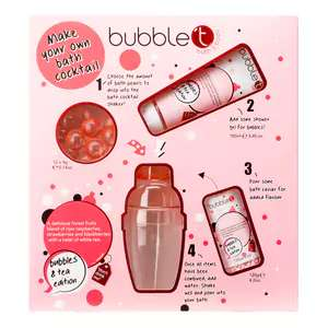 Bubble T - Make Your Own Bath Cocktail Gift Set only £2.49 at Superdrug! Free c&c