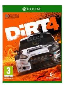 Dirt 4 xbox one digital download - £8.96 @ Turkish xbox store