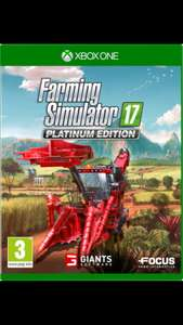 Farming simulator 17 Platinum Edition Xbox one £26.99 @ Very