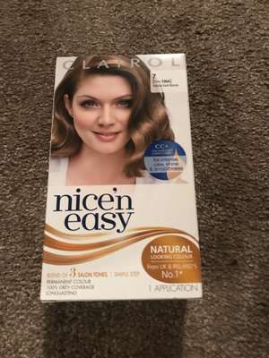 Nice 'n Easy Dark Blonde 7 - 50p instore @ Boots (Windsor, London)