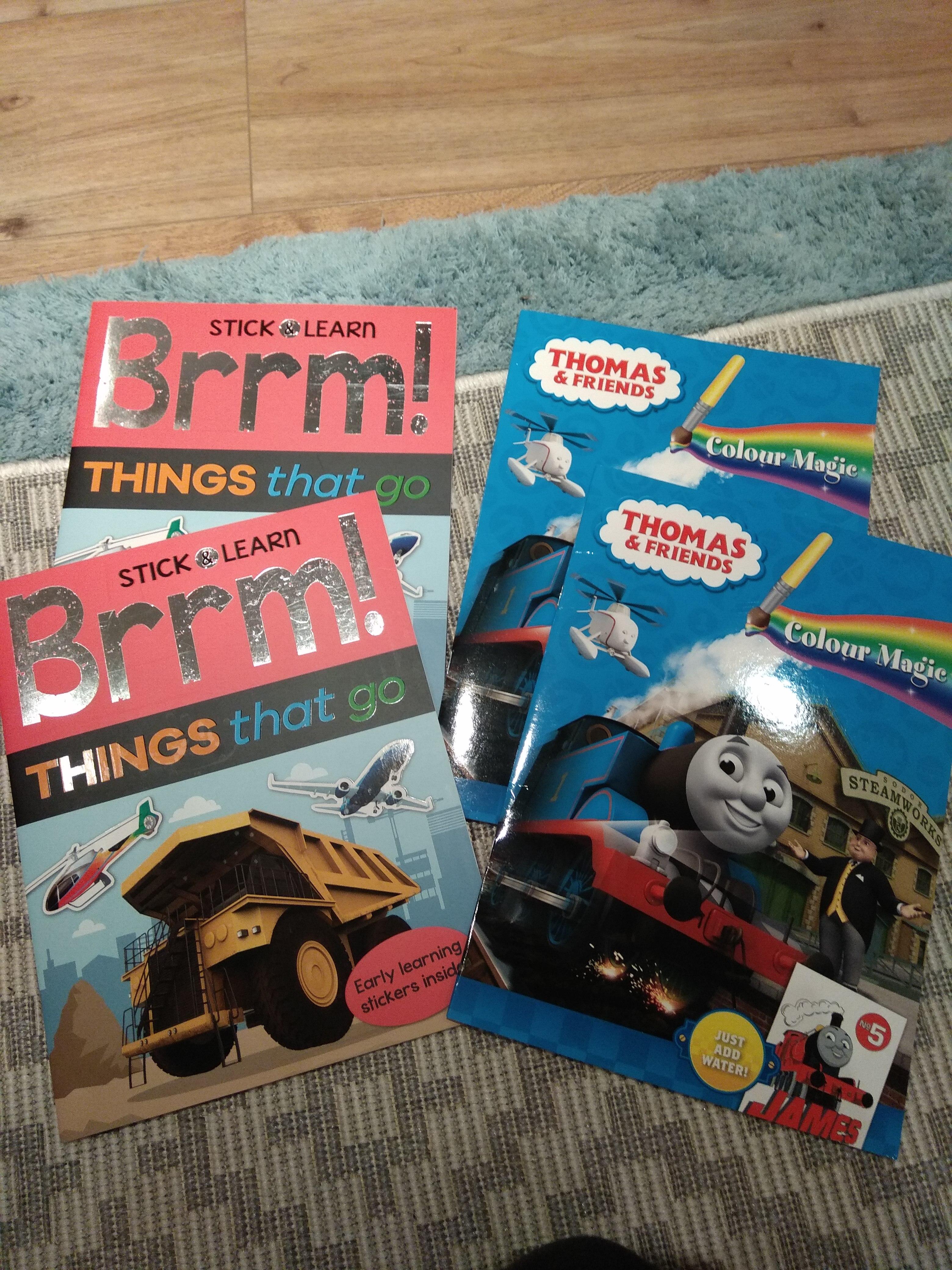 Kids Activity Books £1 @ Poundland including Thomas & Friends Colour Magic