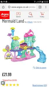 Vtech Toot Toot Kingdom Mermaid Land @ Argos - £21.99