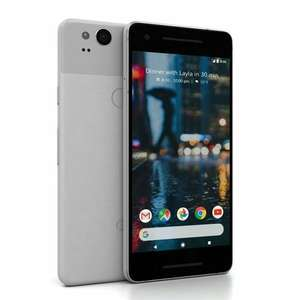 Google Pixel 2 - Clearly White (Refurbished Grade A) w. Unlimited Calls and Minutes, 4GB data on O2 - £24 / 24 mths + £50 upfront @ Mobiles.co.uk