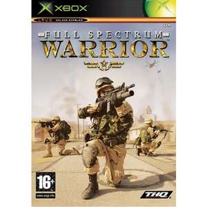 (Used - Xbox/Xbox One backwards compatible) Full Spectrum Warrior - £0.50 instore @ CeX (Add £1.50 for delivery)