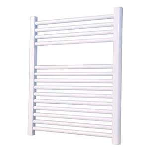 Flat Ladder Towel Radiator White 700 x600 £9.99 @ Screwfix - Free C&C