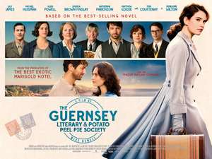 Free Cinema Tickets  -  The Guernsey Literary & Potato Peel Pie Society ( Saturday 14th Apr 2018 at 11:00am) @ See It First