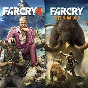 Far Cry 4 and primal on PlayStation store for £19.99