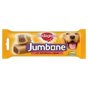 Pedigree Jumbone With Beef 200g 2pack £1 @ poundland