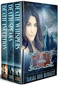 he Death Series (Books 1-3): New Adult Dark Paranormal/Sci-fi Romance Kindle Edition  by Tamara Rose Blodgett (Author)