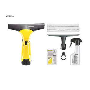 Karcher WV2 Plus cordless window vacuum now down to £39.99 at Screwfix (was £59.99 and still is most places).  Comes with accessories as shown.