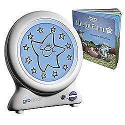 GroClock The Best Child Sleep Trainer and Sleepy Farm Book Was £25.00 Now £7.50 Instore @ Tesco (Mayflower)