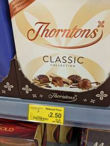 Thornton's 248g Milk, Dark and White Classic Collection reduced from £7 to £2.50 @ Asda - Gloucester