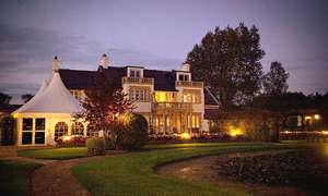 1 Night Somerset Hotel Break for 2 with Breakfast, Dinner, Prosecco & Spa Access  (£42.08pp) now £84.15 w/code at Groupon