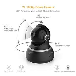 Yi 1080p Dome camera, black or white £39.99 Sold by Seeverything UK and Fulfilled by Amazon