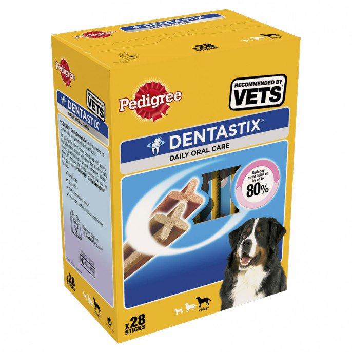 PEDIGREE DENTASTIX 28 PK - LARGE/SMALL DOGS £5 @ POUNDSTRETCHER
