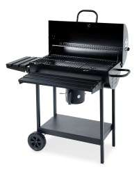 Gardenline Oil Drum Charcoal BBQ £49.99 @ Aldi